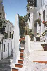 Frigiliantes one of white villages Spain